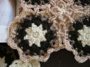 かぎ針モチーフ編み始め
