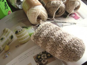 かぎ針編みペットボトルケース編み始め