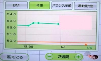 私のグラフ1月3日