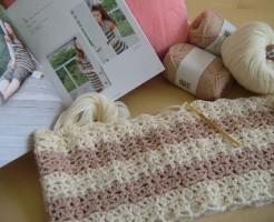 かぎ針編みのチュニック開始