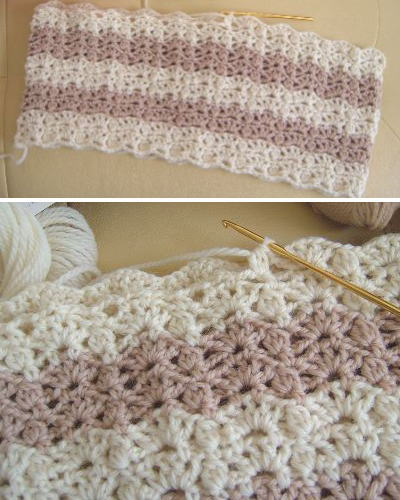 かぎ針編みのチュニック