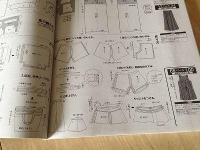 ショートパンツの縫い方手順