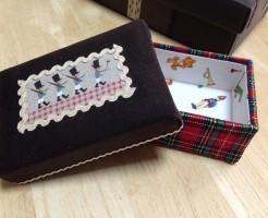 布箱の小箱の贈り物