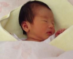 姪っ子の赤ちゃん生まれたて