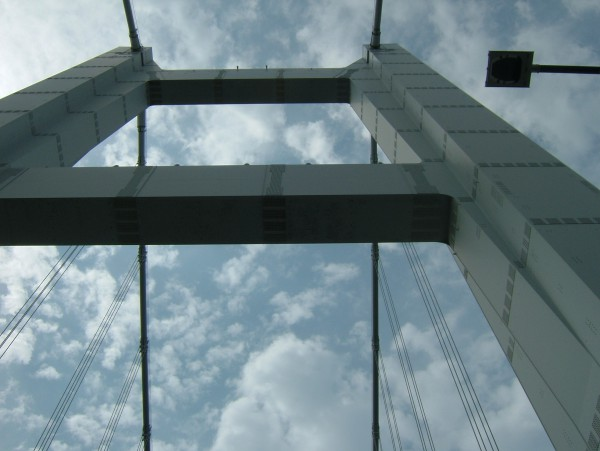 雄大な瀬戸大橋