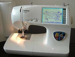 ブラザー刺しゅうミシンD9000