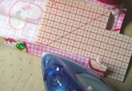 縫いしろを折る